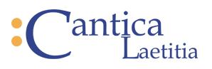 pěvecký sbor Cantica Laetitia
